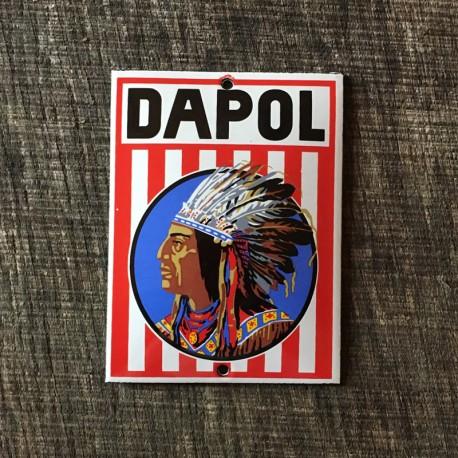 Smaltovaná cedulka DAPOL