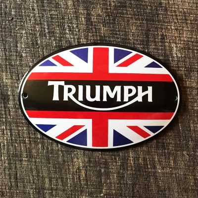 Smaltovaná cedulka TRIUMPH