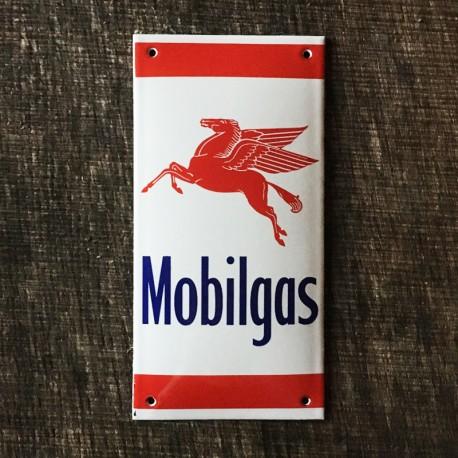Smaltovaná cedule MOBILGAS