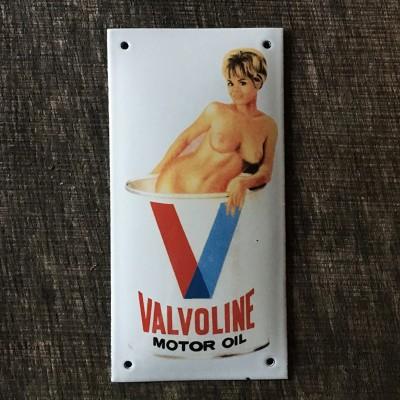Smaltovaná cedule VALVOLINE