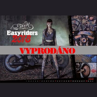Kalendář Easyriders 2018