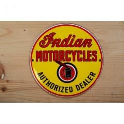 Smaltovaná cedulka INDIAN MOTORCYCELS