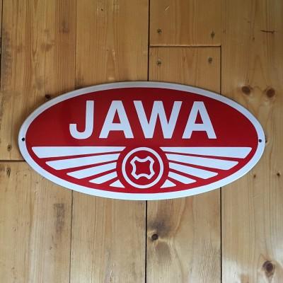 Smaltovaná cedule JAWA 46 cm