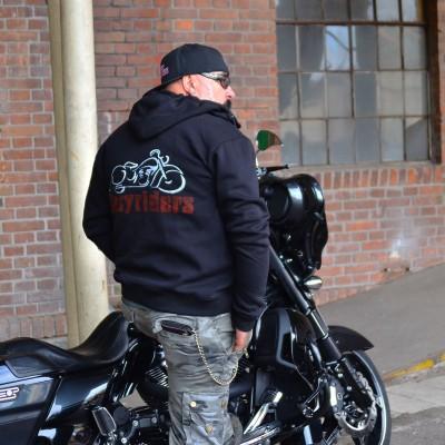 Motorkářská mikina pánská EASYRIDERS