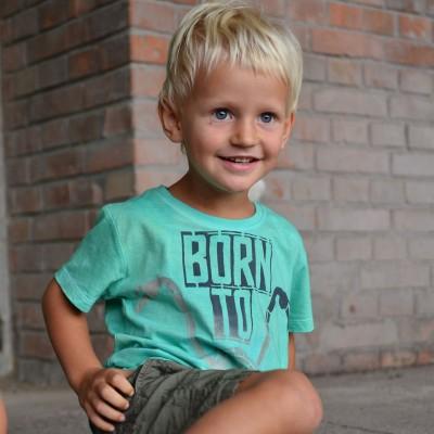 Dětské tričko BORN TO RIDE