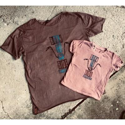 Pánské tričko BORN TO RIDE EASYRIDERS