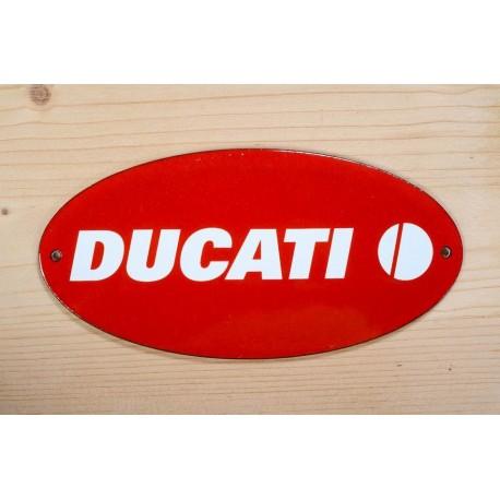 Smaltovaná cedule DUCATI 46 cm