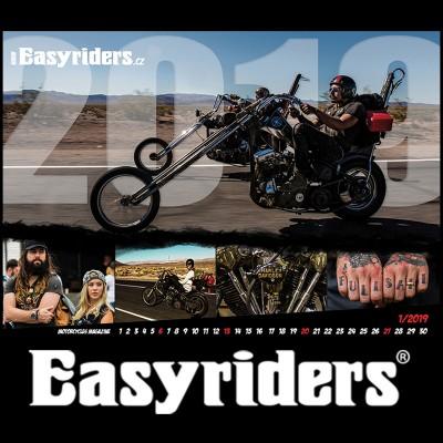 Kalendář Easyriders 2019