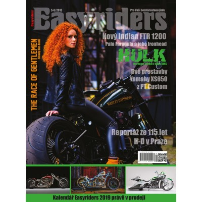 ČASOPIS Easyriders 05-06/2018