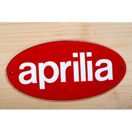 Smaltovaná cedulka APRILIA