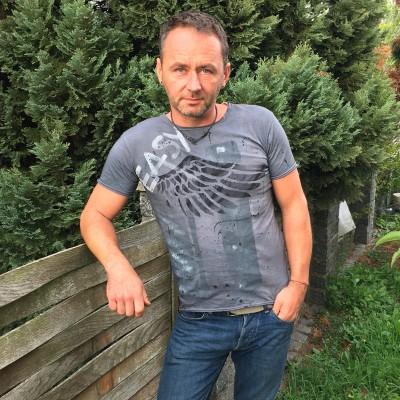 Pánské motorkářské tričko EASY