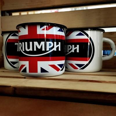 Smaltovaný hrnek Triumph