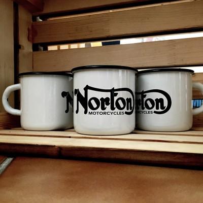 Smaltovaný hrnek NORTON