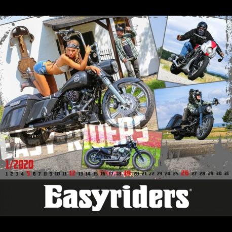Kalendář Easyriders 2020