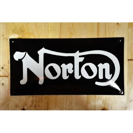Smaltovaná cedule NORTON