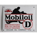 Smaltovaná cedule MOBIL OIL
