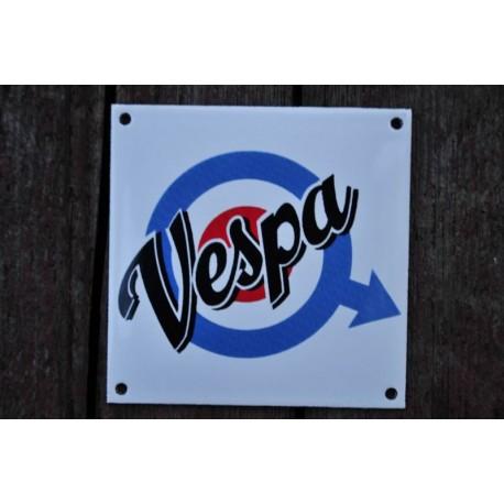 Smaltovaná cedulka VESPA