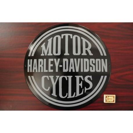 Smaltovaná cedule HARLEY-DAVIDSON MOTOR CYCLES