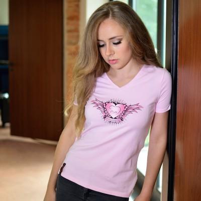 Dámské tričko SRDCE